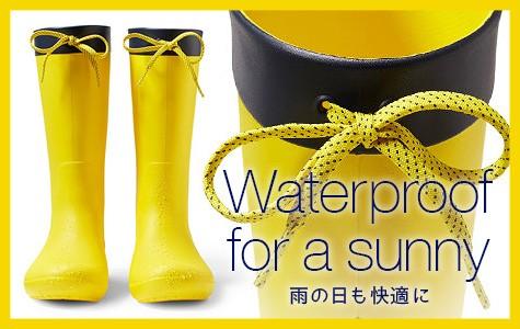◆レインブーツ特集◆ 雨の日も楽しくなる快適レインブーツ