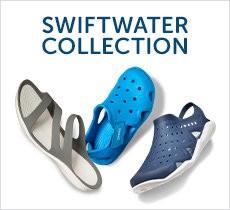 スウィフトウォーター -swiftwater- 陸でも水中でも履いていきたくなる!アウトドアシーンに大活躍のNEWクロッグ