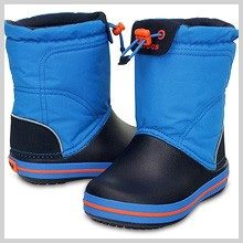 crocs クロックバンド ロッジポイント ブーツ キッズ crocband lodgepoint boot kids