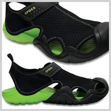 crocs swiftwater sandal スウィフトウォーター サンダル メンズ