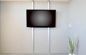 お手軽にテレビを壁掛け風に
