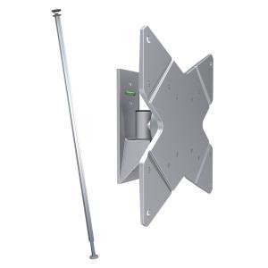 つっぱり棒 ポール テレビ壁掛け 賃貸 TVセッタージュネス NA110 SSサイズ ビッグプレート