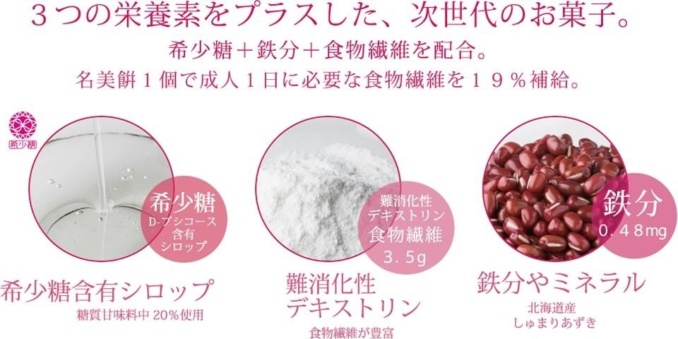 名古屋のお土産・名美餅