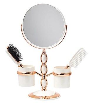 卓上鏡、スタンドミラー、メーキャップミラー、化粧鏡、洗面所 鏡