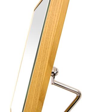 国産 業務用 卓上鏡 スタンドミラー 卓上ミラー ミラースタンド メーキャップミラー 化粧鏡 コスメミラー プロ仕様 日本製 店舗用