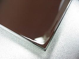 国産の鏡・ミラーの切断面を防湿・防錆・防食加工