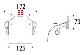 トイレ ペーパー ホルダー・トイレット ペーパー ホルダー:g-6g4080k6
