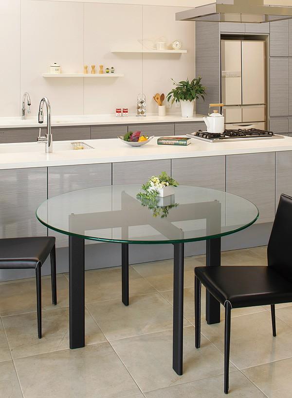 ガラス・テーブル、オフィステーブル、会議机、コーヒーテーブル、ダイニングテーブル「AR-YT-13+YT-01」