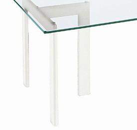 ガラス・テーブル 「ホワイト(YT-03)」