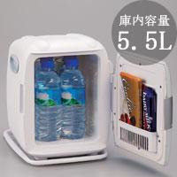 TWINBIRD(ツインバード)製 2電源式コンパクト電子保冷保温ボックス D-CUBE S グレー HR-DB06GY