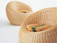 籐家具(籐椅子)イメージ