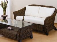 籐家具(籐ソファ・籐テーブル)イメージ