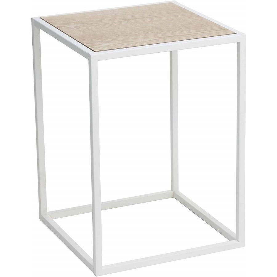 テーブル サイドテーブル タワー スクエア ホワイト ブラック 四角形 スタイリッシュ|kagu-piena|14