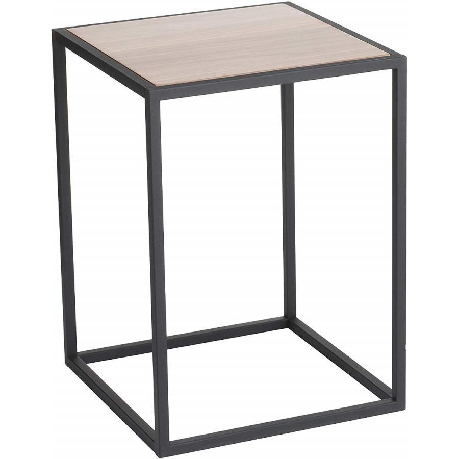 テーブル サイドテーブル タワー スクエア ホワイト ブラック 四角形 スタイリッシュ|kagu-piena|15