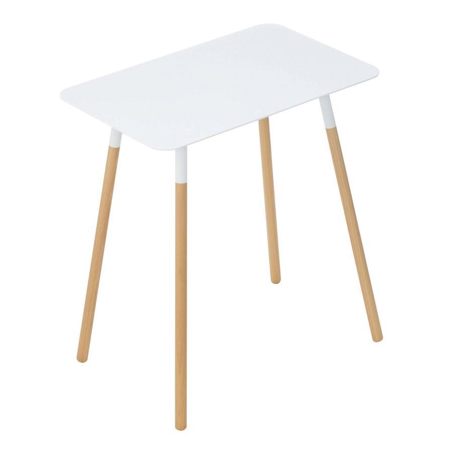 サイドテーブル 角型 ホワイト ブラック プレーン 家具 ソファーサイド ベットサイド|kagu-piena|13