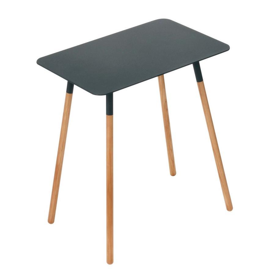 サイドテーブル 角型 ホワイト ブラック プレーン 家具 ソファーサイド ベットサイド|kagu-piena|14