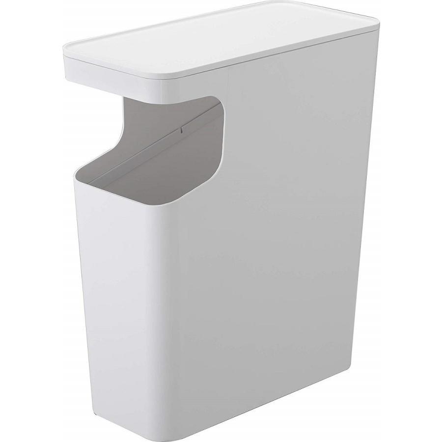 ゴミ箱 サイドテーブル ナイトテーブル ダストボックス & タワー ホワイト ブラック 袋止め kagu-piena 21