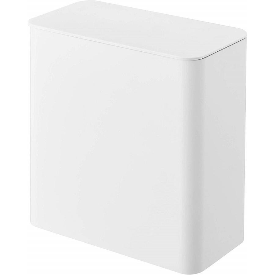 ランドリー収納 ホワイト ブラック タワー マグネット 洗濯機横 ボックス フタ付き ラック|kagu-piena|15