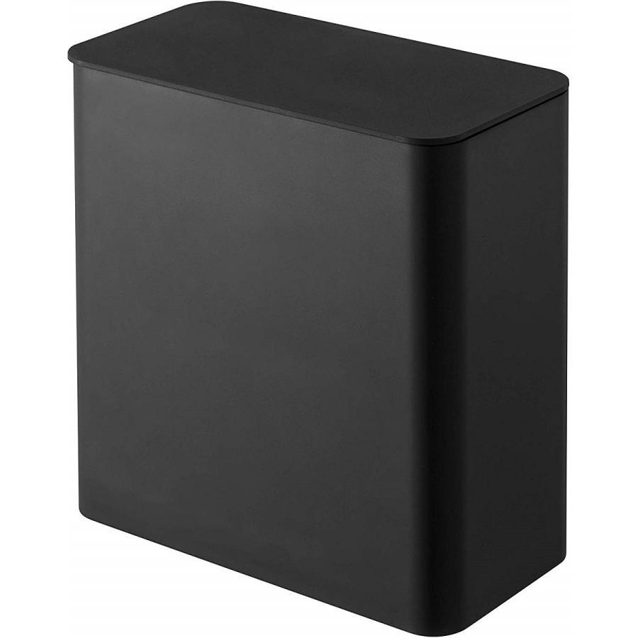 ランドリー収納 ホワイト ブラック タワー マグネット 洗濯機横 ボックス フタ付き ラック|kagu-piena|16