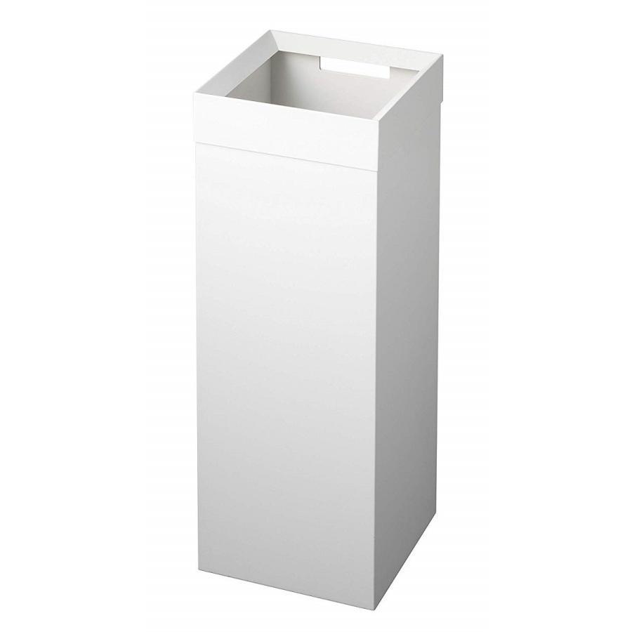 トラッシュカン 角型ロング タワー ゴミ箱 袋が見えない スリム ダストボックス kagu-piena 15