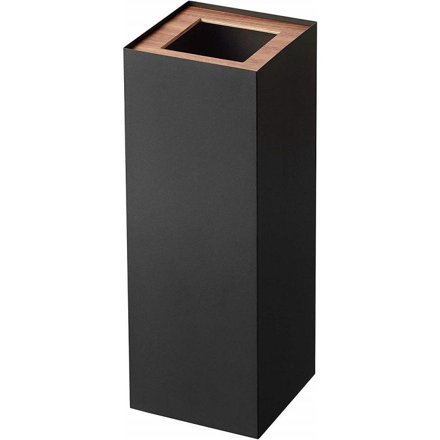 フタなしゴミ箱 リン ダストボックス トラッシュカン ロング 大容量 木製 スクエア 角型 kagu-piena 15