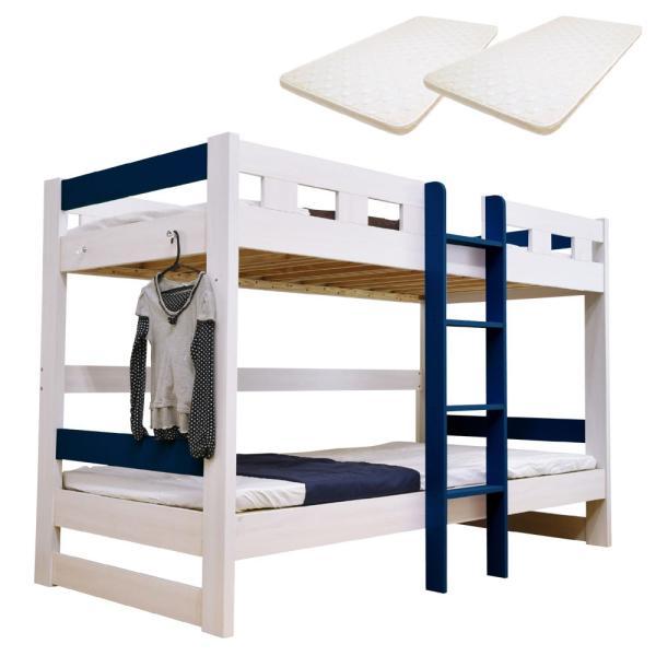 二段ベッド 2段ベッド ロータイプ2段ベッド ローシェンEX2-ART(パームマット付き)|kagu-try|14