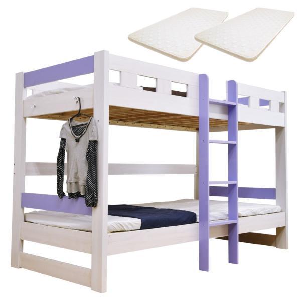 二段ベッド 2段ベッド ロータイプ2段ベッド ローシェンEX2-ART(パームマット付き)|kagu-try|11
