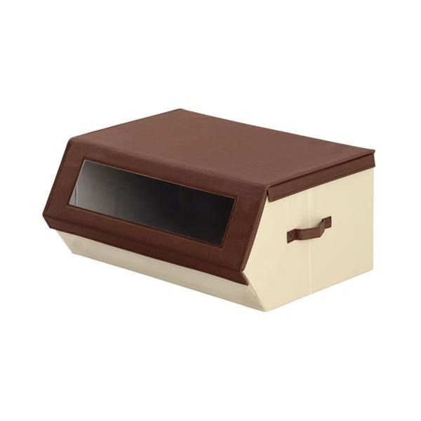 収納ケース おしゃれ 布 前開き 持ち運び 子供 おもちゃ 小物 おもちゃ箱 蓋付き マグネット 収納 ボックス 窓付き|kagubiyori|30