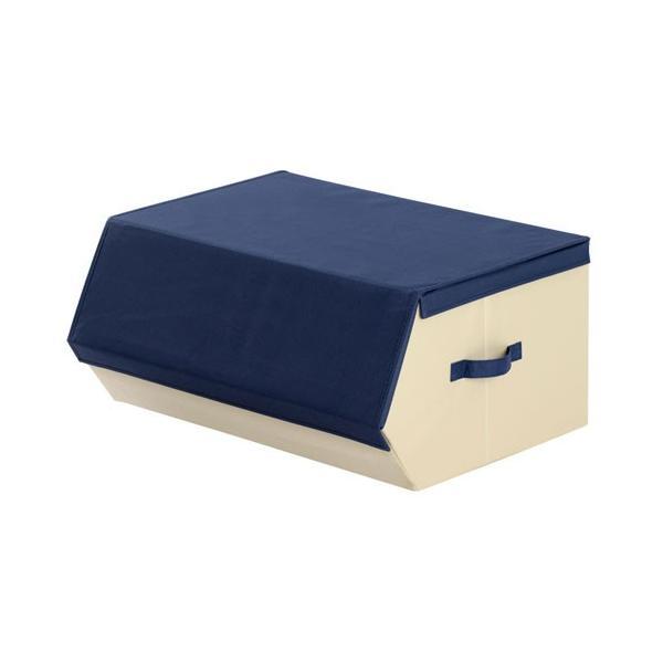 収納ケース おしゃれ 布 前開き 持ち運び 子供 おもちゃ 小物 おもちゃ箱 蓋付き マグネット 収納 ボックス 窓付き|kagubiyori|23