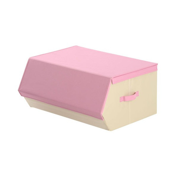 収納ケース おしゃれ 布 前開き 持ち運び 子供 おもちゃ 小物 おもちゃ箱 蓋付き マグネット 収納 ボックス 窓付き|kagubiyori|25