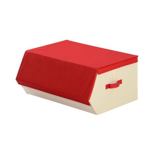 収納ケース おしゃれ 布 前開き 持ち運び 子供 おもちゃ 小物 おもちゃ箱 蓋付き マグネット 収納 ボックス 窓付き|kagubiyori|22
