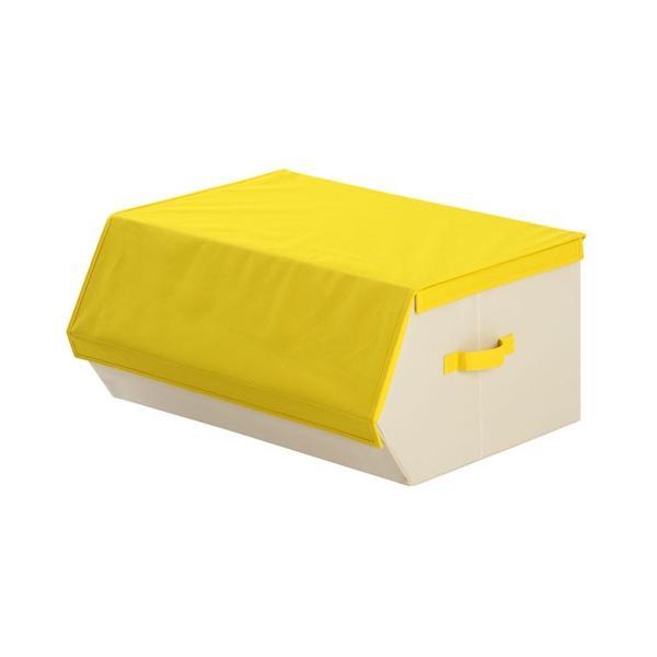 収納ケース おしゃれ 布 前開き 持ち運び 子供 おもちゃ 小物 おもちゃ箱 蓋付き マグネット 収納 ボックス 窓付き|kagubiyori|28