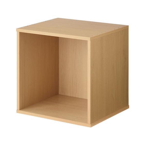 キューブボックス 収納 扉付き 本棚 カラーボックス 収納ボックス キューブラック 木製 絵本 コミック A4 CD 1段 2段 子供 おしゃれ 北欧|kagubiyori|20