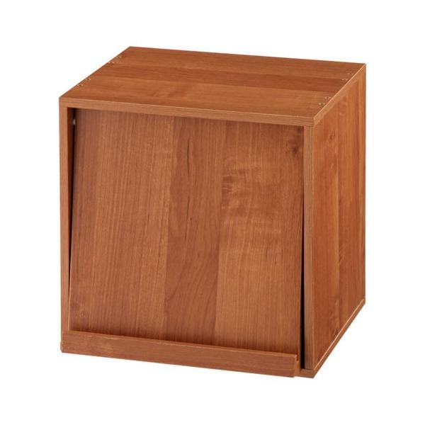 キューブボックス 収納 引き出し 扉 仕切り オープン フラップチェスト 収納ボックス 奥行30cm 木製 A4 子供部屋 おしゃれ|kagubiyori|28