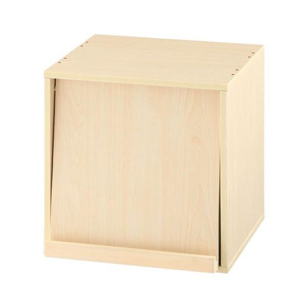 キューブボックス 収納 引き出し 扉 仕切り オープン フラップチェスト 収納ボックス 奥行30cm 木製 A4 子供部屋 おしゃれ|kagubiyori|25