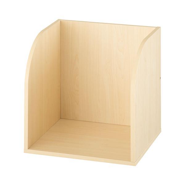 キューブボックス 収納 引き出し 扉 仕切り オープン フラップチェスト 収納ボックス 奥行30cm 木製 A4 子供部屋 おしゃれ|kagubiyori|35