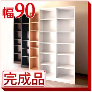 ◆組み立て配送◆シンプル シェルフ9018 幅90cm 高さ180cm