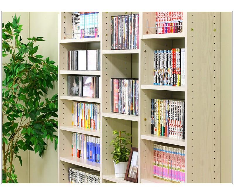 耐震 つっぱり書棚用棚板2枚組 幅60cm 奥行19cm