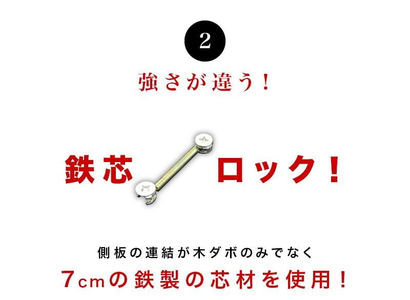 強さが違う鉄芯ロック(鉄心ロック)