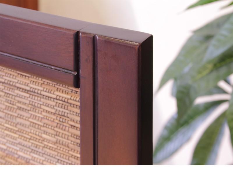 天然木の温かみ感じる素朴な木製スクリーン 商品説明