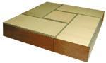 畳ユニットボックス清花さやか ハイタイプAセット 高床式畳収納 180×180cm 和風