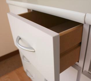 ピュアホワイトシリーズ[BRANCO(ブランコ)] 幅60cm TVボード ミニテレビ台 AVボード