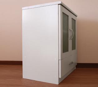 ◆組み立て配送◆ピュアホワイト [Branco(ブランコ)] キャビネット 幅60cm