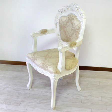 マホガニー ひじ付き アンティーク ダイニングチェアー椅子 フランチェスカ フランシスカ