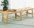 籐家具:ベンチ