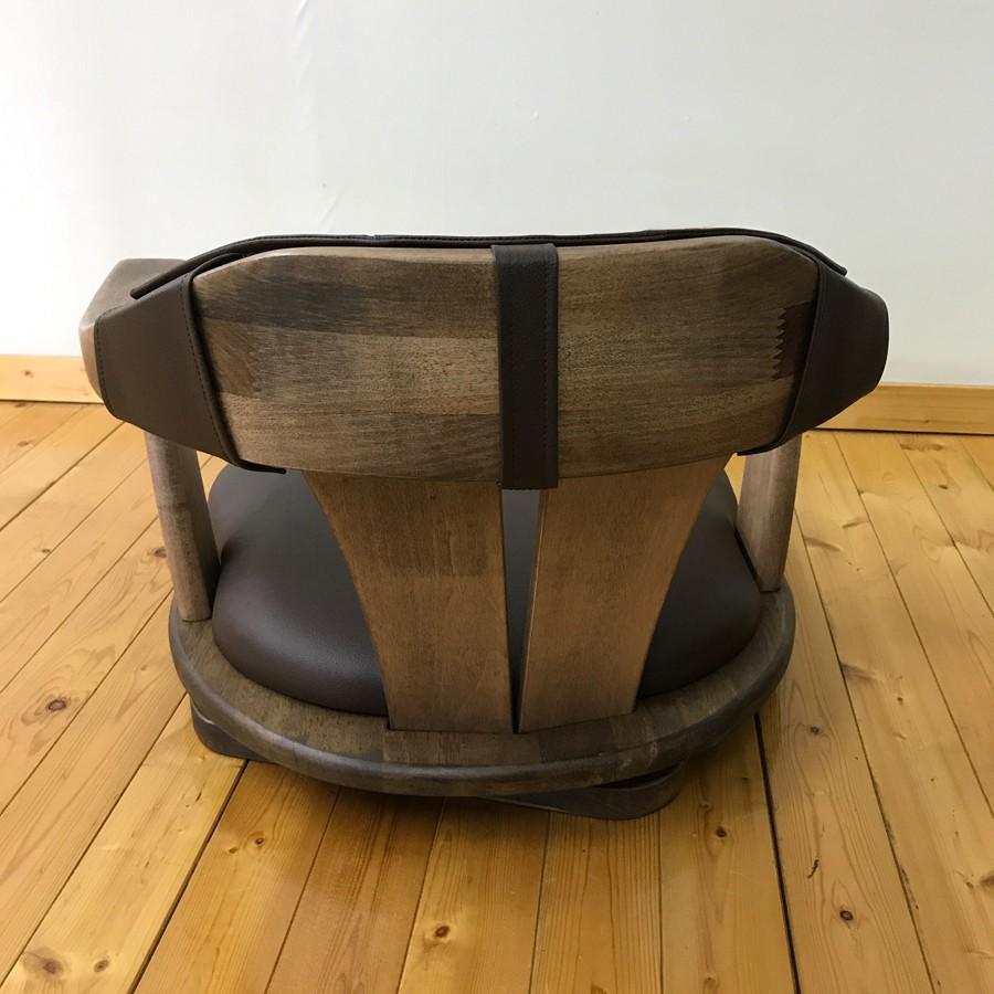 無垢材座椅子