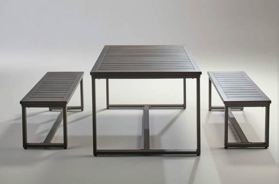 アルミ製 ガーデンテーブル ガーデンベンチ