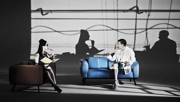海外デザイナーとコラボから生まれたソファー