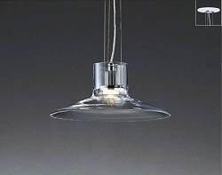 レトロ感もある透明ガラスペンダントmp40451-50-90