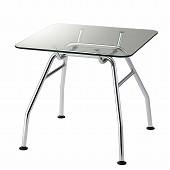 硝子テーブル サイズ幅80奥行80高さ72cm